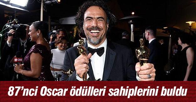 87'nci Oscar ödülleri sahiplerini buldu