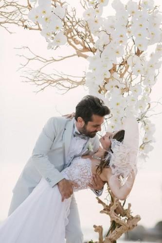 Kenan Doğulu  ile Beren Saat'in düğününden ilk kareler