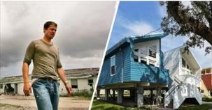 15 Kareyle Brad Pitt'in Kasırga Mağdurları İçin Tam 109 Ev İnşa Ettirdiği Harika Projesi