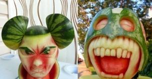 Yemeye kıyamayacağınız karpuzdan yapılan 14 sanat eseri