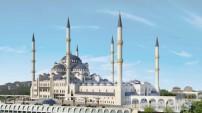 Çamlıca Camii'sinde son durum