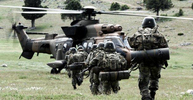 11 bin Türk askeri hazırlıklarını tamamladı