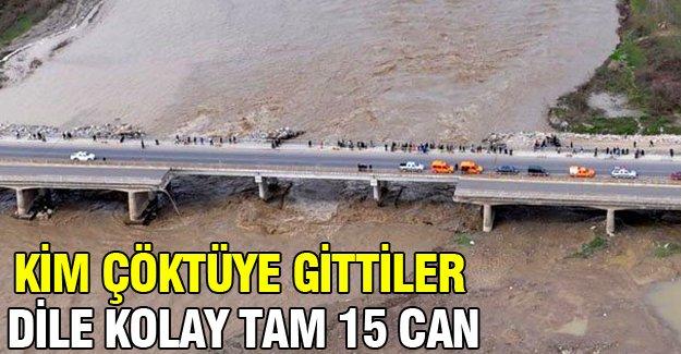 15 kişinin öldüğü köprü faciası, soruşturma izni verilmeyince kapandı