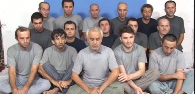 16 Türk işçi serbest bırakıldı