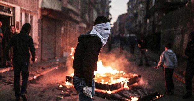 Diyarbakır Sur'da yine çatışma çıktı