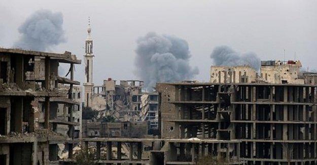 Rus jetleri Şam'da sivilleri vurdu: 50 ölü