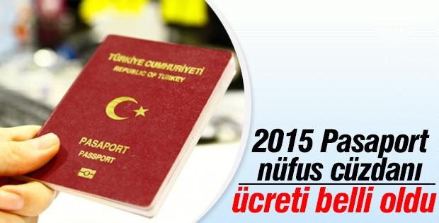 2015 Pasaport ve ehliyet ücretleri belli oldu!