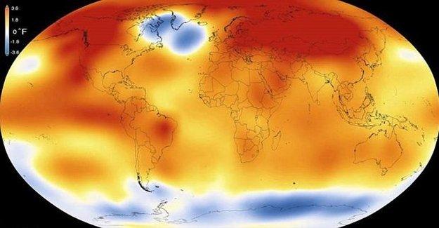 2015 Sıcaklık Rekoru Kırdı