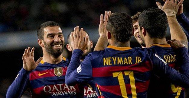 Arda Turan Girdi, Lionel Messi Çıktı Ortalık Karıştı