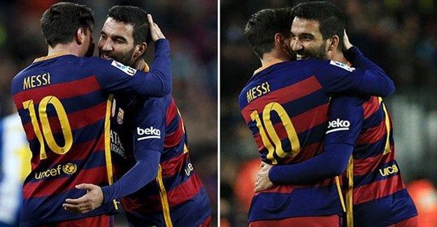 Arda Turan'nın Kulağına Messi Ne Söyledi