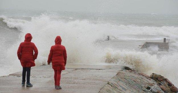 Batı Akdeniz İçin Meteorolojik Uyarı