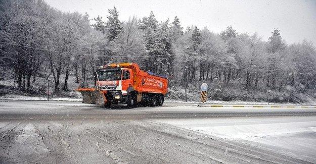 Bolu Ve Düzce'de Kar Etkisini Artıracak