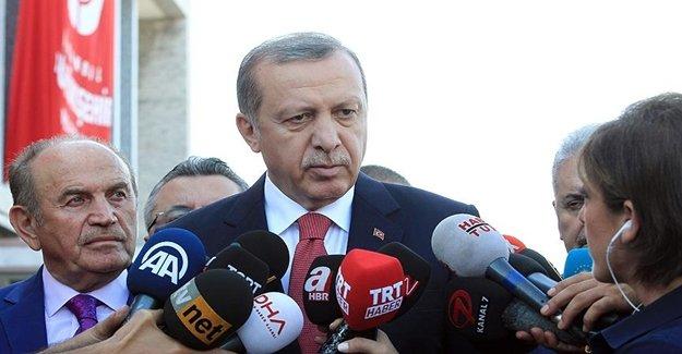 Cumhurbaşkanı Erdoğan Patlamayla İlgili Bilgi Aldı