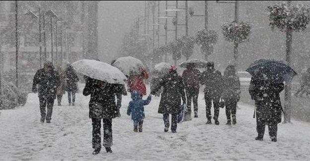 Dikkat Kar Geri Geliyor