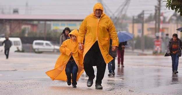 Dikkat! Meteoroloji Kuvvetli Yağış Uyarısı Yaptı
