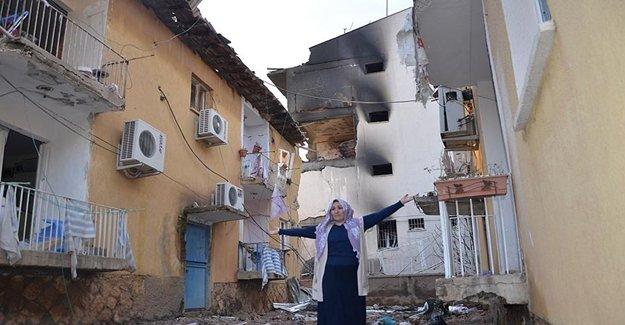 Evleri Zarar Gören Vatandaşlar Tepki Gösterdi