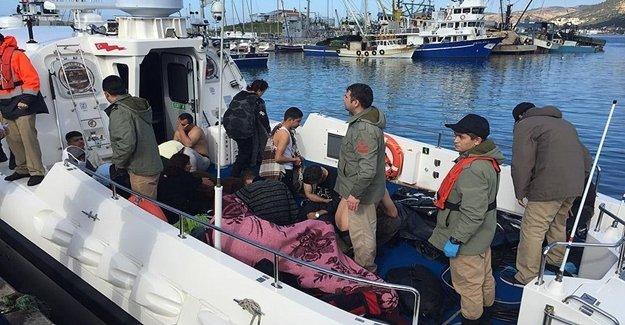 Foça'da Sığınmacıları Taşıyan Tekne Battı
