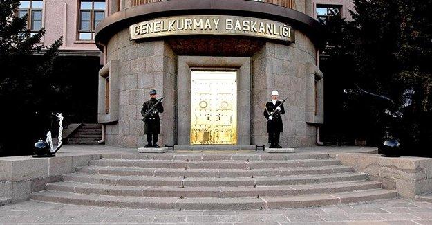 Genelkurmay Başkanlığı: 17 PKK'lı Öldürüldü