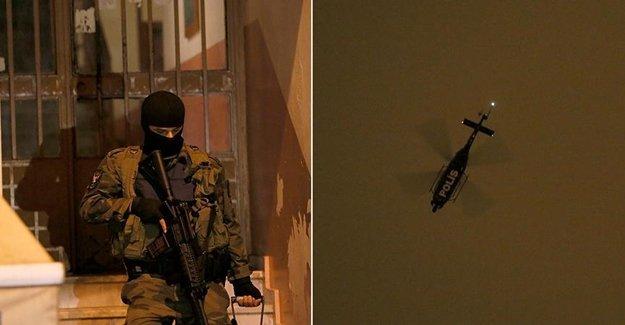 İstanbul'da Uyuşturucu Operasyonu Yapıldı