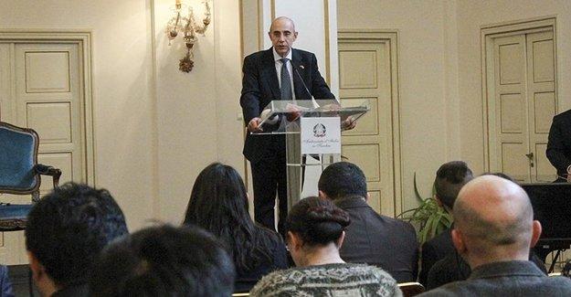 İtalya Büyükelçisi: Türkiye'ye Karşı Bir Tavrımız Yok