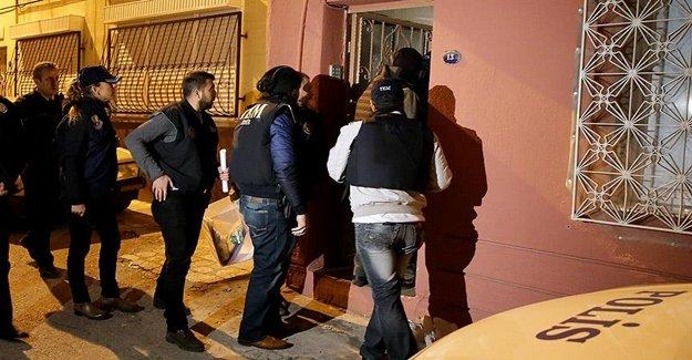 İzmir'de YDG-H Operasyonu: 7 Gözaltı