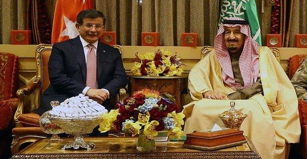 Kral Selman Başbakan'ı Öğlen Yemeğinde Ağırladı
