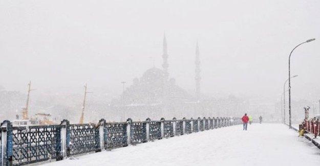 Meteoroloji'den 'Yoğun Kar' Uyarısı!