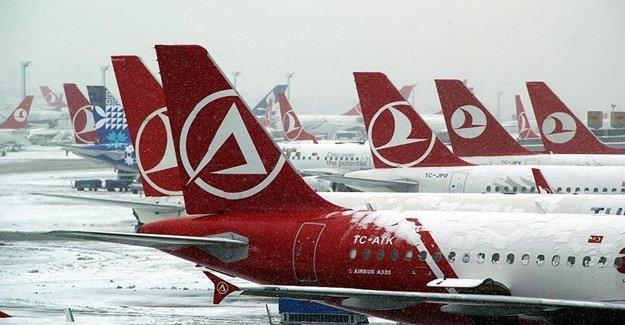 Olumsuz Hava Şartları Uçuşları İptal Ettirdi