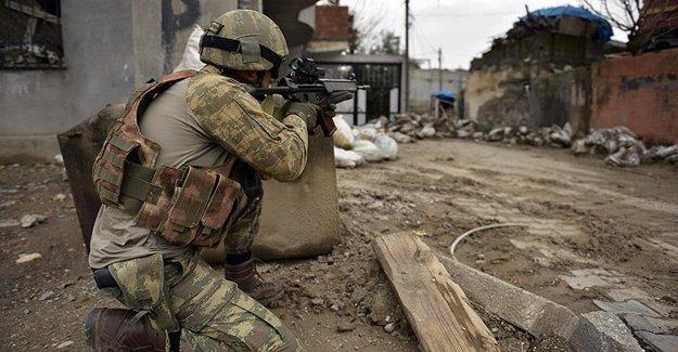 PKK Operasyonunda: 1 Asker Şehit Oldu