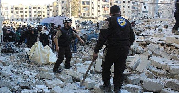 Rus Uçakları Halep'te Okula Saldırdı