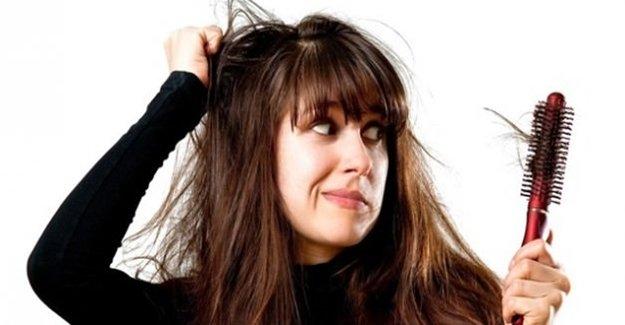 Saçlarınız'da Depresyona Girebilir