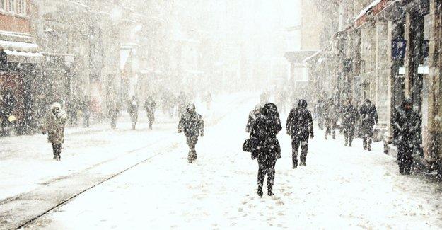 Sıcaklık 15 derece düşecek, kar kapıda!