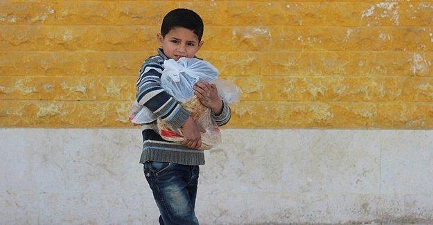 Suriye'de 13,5 Milyon Şahıs Zor Durumda