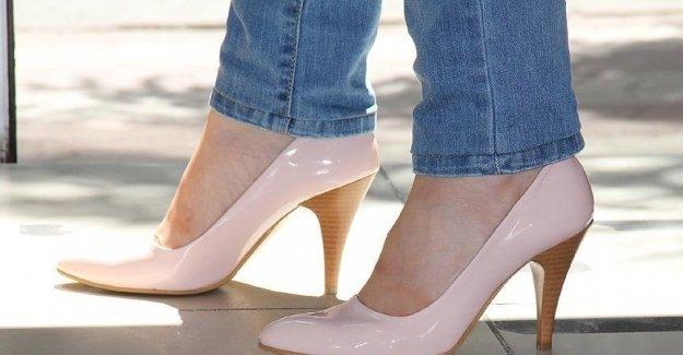 Topuklu Ayakkabıdaki Büyük Tehlike