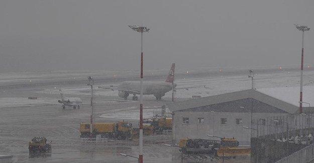 Trabzon'da Hava Ulaşım Seferler Bugünde İptal Edildi!