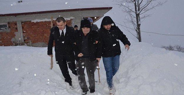 Trabzon'da Kanser Hastası İçin Seferber Oldular
