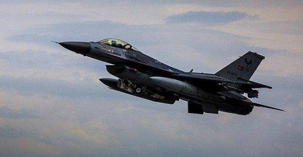 Türk Jetleriyle Irak'ın Kuzeyine Hava Operasyonu