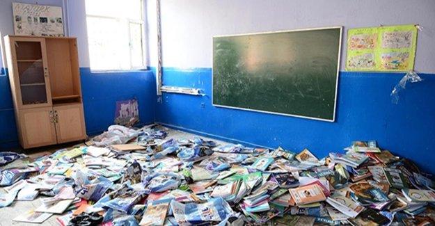 111 Okulda Eğitimi Kesintiye Uğradı