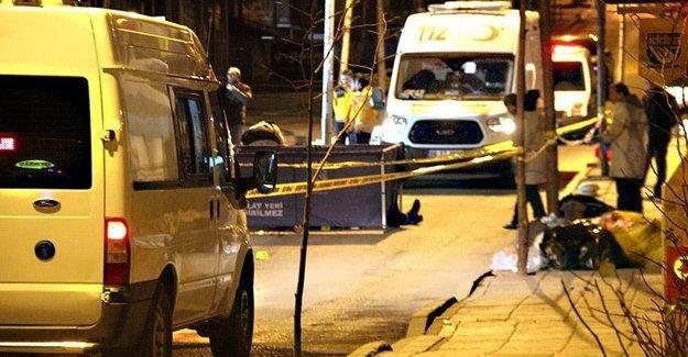 Ankara'da Cinayet İşlendi
