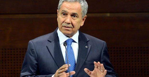 Arınç'tan Cumhurbaşkanı Erdoğan'a Cevap