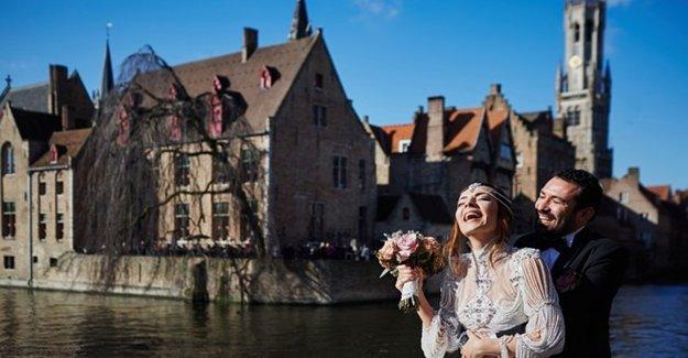 Belçika'da Şato Düğünü