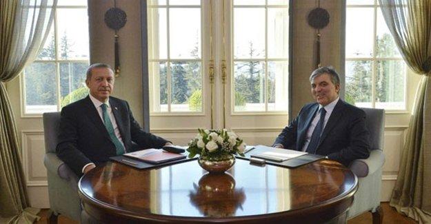 Cumhurbaşkanı Erdoğan İle Gül 3 Saat Görüştü