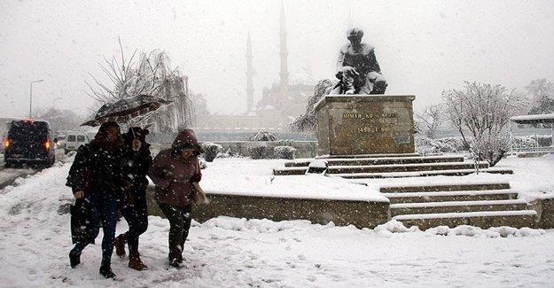 Dikkat:Trakya'dan Kuvetli Kar Geliyor