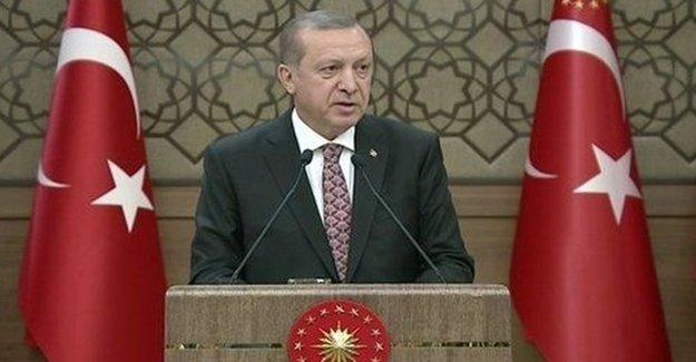 Erdoğan'dan Sert Sözler: Ey Amerika…