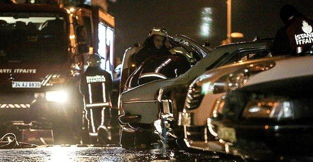 İstanbul'da Dehşet Gecesi Yaşandı