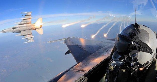 Kandil'e Jetler Havadan Saldırıyor