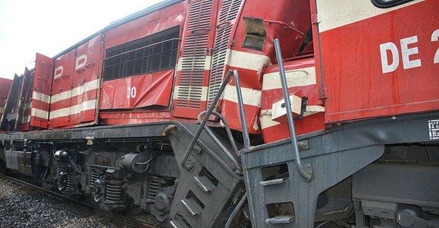 Manisa'da Tren Kazası Yaşandı
