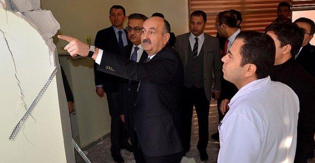 Sağlık Bakanı Cizre'ye Denetime Gitti