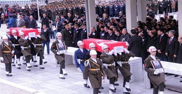 Şehit Askerlere Son Görev