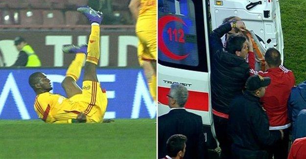 Trabzon Maçında Şok Sakatlık! Kolu Kırıldı